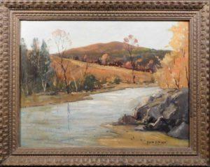 Emile Gruppe landscapr oil painting.