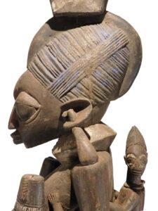 Yoruba Nigeria House Post