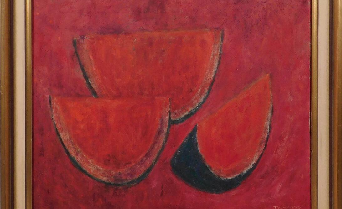 Tamayo Style Painting